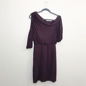 Black halo cold shoulder dress! Perfect condition.